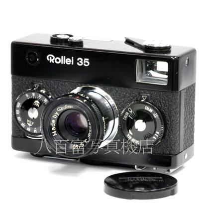2月9日20:00~2月16日01:59 限定 最大4 000円OFF お得なクーポン発券中 本物 中古 ブラック ローライ 中古フイルムカメラ Rollei 在庫一掃売り切りセール K3652 35