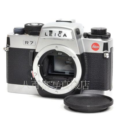 2月9日20:00~2月16日01:59 限定 最大4 000円OFF お得なクーポン発券中 中古 再入荷 予約販売 ライカ R7 39518 品質保証 ボディ シルバー LEICA 中古フイルムカメラ