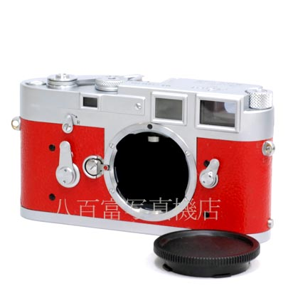 【中古】 ライカ M3 クローム 赤貼り革 ボディ Leica 中古フイルムカメラ 41631