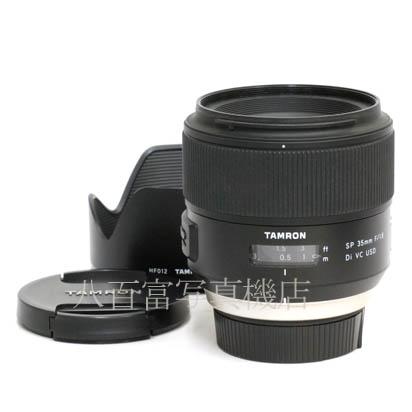【中古】 タムロン SP 35mm F/1.8 Di VC USD F012N ニコンAF用 TAMRON 中古交換レンズ 42472