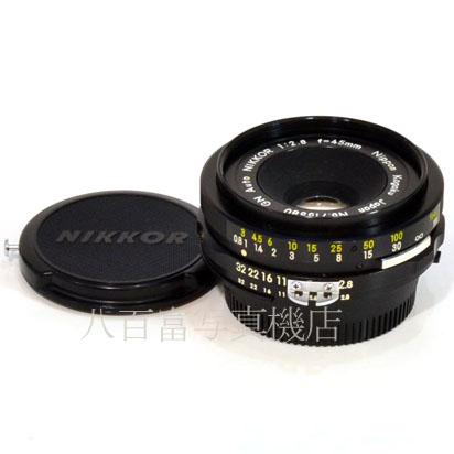 【中古】 ニコン GN Auto Ai改 Nikkor 45mm F2.8 初期 9枚絞り型 Nikon ニッコール 中古交換レンズ 42617