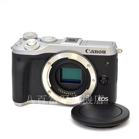 8 26 01:59まで限定 最大4 000円OFFクーポン発行中 中古 キヤノン 中古デジタルカメラ M6 ボディ 48540 保証 シルバー EOS Canon 限定価格セール