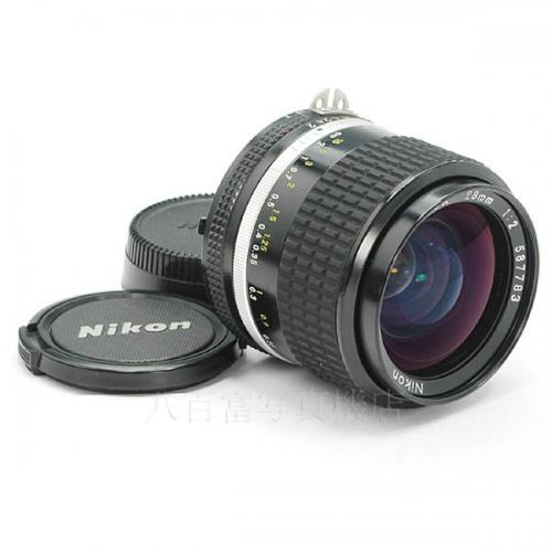 【中古】 中古レンズ ニコン Ai Nikkor 28mm F2S Nikon/ニッコール 15711