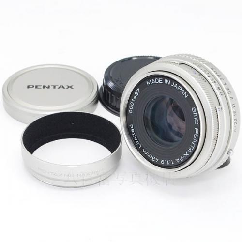 【中古】 SMC ペンタックス FA 43mm F1.9 Limited シルバー PENTAX 16628 中古レンズ
