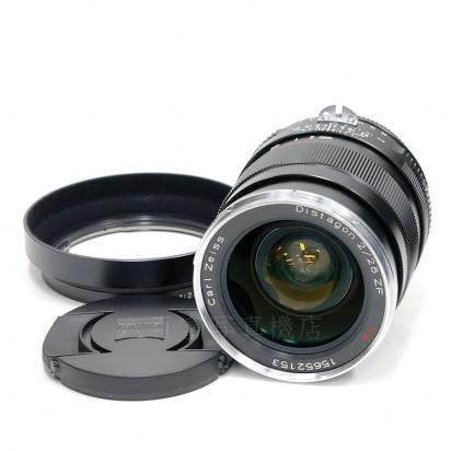 【中古】 カールツァイス Distagon T* 28mm F2 ZF ニコンAi-S用 CarlZeiss 19732 【カメラの八百富】【カメラ】【レンズ】