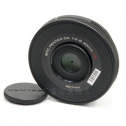 【中古】 SMC ペンタックス DA 40mm F2.8 XS ブラック PENTAX 中古レンズ 19186【カメラの八百富】【カメラ】【レンズ】