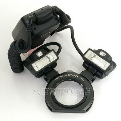 【中古】 キヤノン マクロツインライト MT-24EX MACRO TWIN LITE Canon 中古アクセサリー 22393【カメラの八百富】【カメラ】【レンズ】
