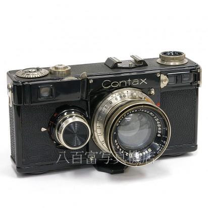 【中古】 CONTAX 型 Sonnar 5cm F2セット コンタックス 型 中古カメラ 21469【カメラの八百富】【カメラ】【レンズ】