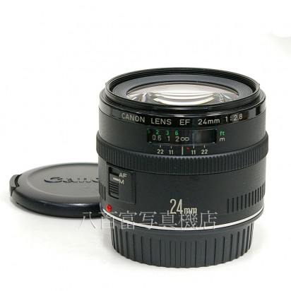 【中古】 キヤノン EF 24mm F2.8 Canon 中古レンズ 24045【カメラの八百富】【カメラ】【レンズ】