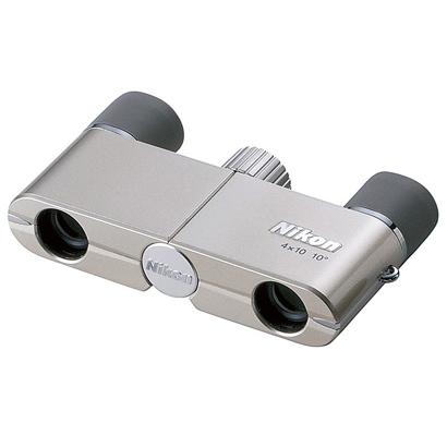 【新品】ニコン 遊 4×10D CF シャンパンゴールド [双眼鏡] Nikon【カメラの八百富】【双眼鏡】