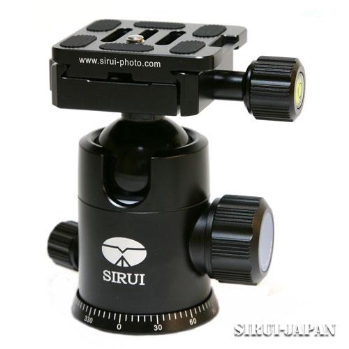 【新品】シルイ G-20X [雲台] SIRUI【カメラの八百富】【一脚】【お取り寄せ商品】