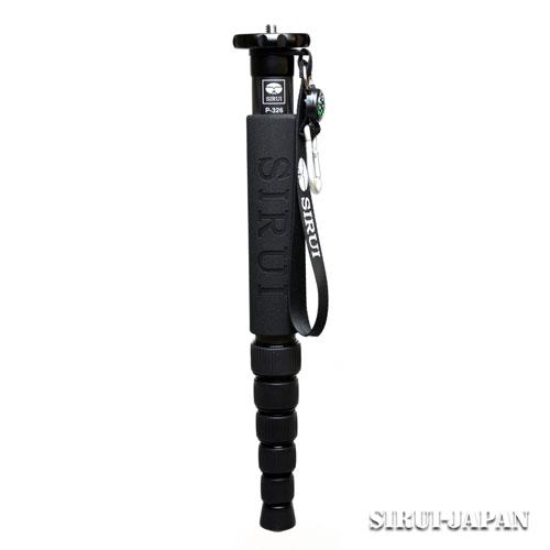 【新品】シルイ P-326 [カーボン一脚] SIRUI【カメラの八百富】【三脚】