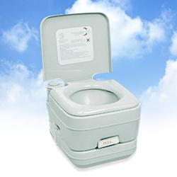 本格派ポータブル水洗トイレ 2層式 10リットル【水洗式トイレ 簡易トイレ 水洗 ポータブル水洗トイレ 携帯トイレポータブル水洗トイレ 】