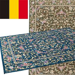 ベルギー製ゴブラン織りカーペット ハルの森(140×220)