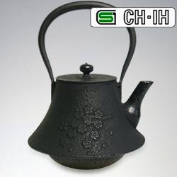 南部鉄器 慶忌 鉄瓶さくらRD 【 かわいい おしゃれ 】 歳暮 紅茶ギフト ROJI (赤) ウェディング 中元