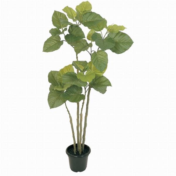 人工観葉植物 ウンベラータ4F 高さ120cm fg5228 (代引き不可) インテリアグリーン 造花