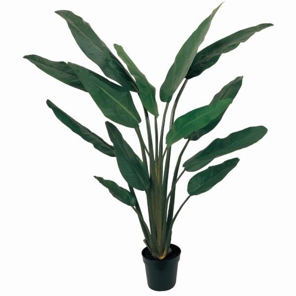 人工観葉植物 トラベラーズパームポット 高さ180cm fg22663 (代引き不可) インテリアグリーン 造花
