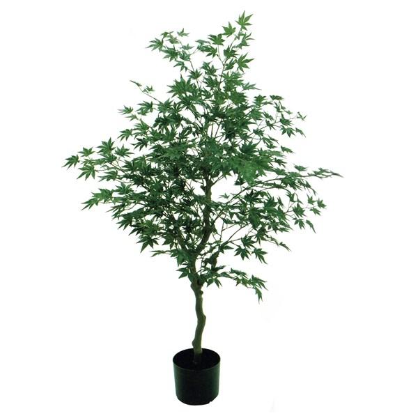 人工観葉植物 モミジポット 高さ120cm fg17700 (代引き不可) インテリアグリーン 造花