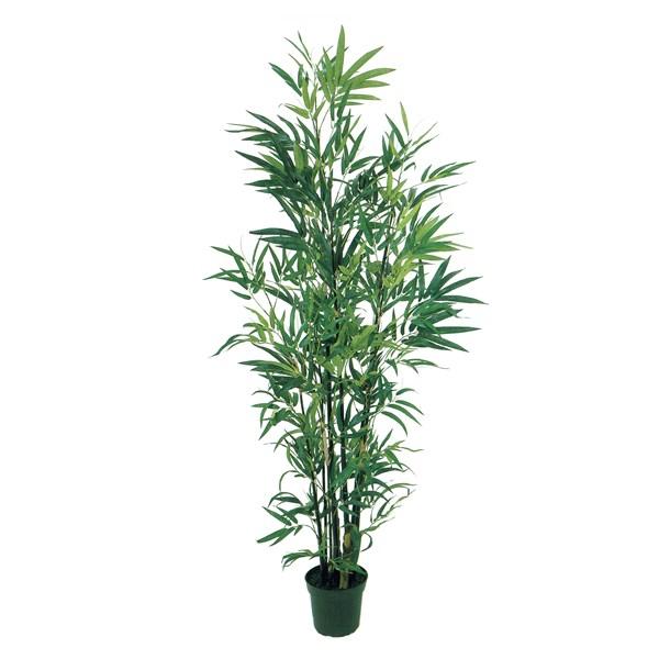 人工観葉植物 エレガントバンブー6F 高さ180cm fg31713 (代引き不可) インテリアグリーン 造花