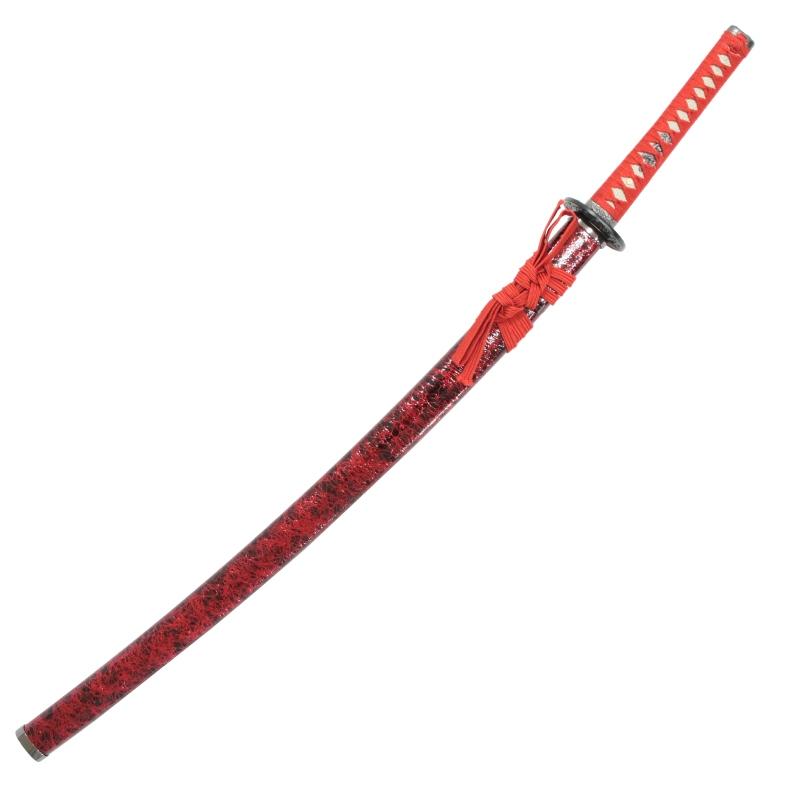 模造刀 雲シリーズ 赤雲 大刀 竜刀身 刀袋付[neu057l]日本刀 美術刀剣 おもちゃ 通販(代引き不可)