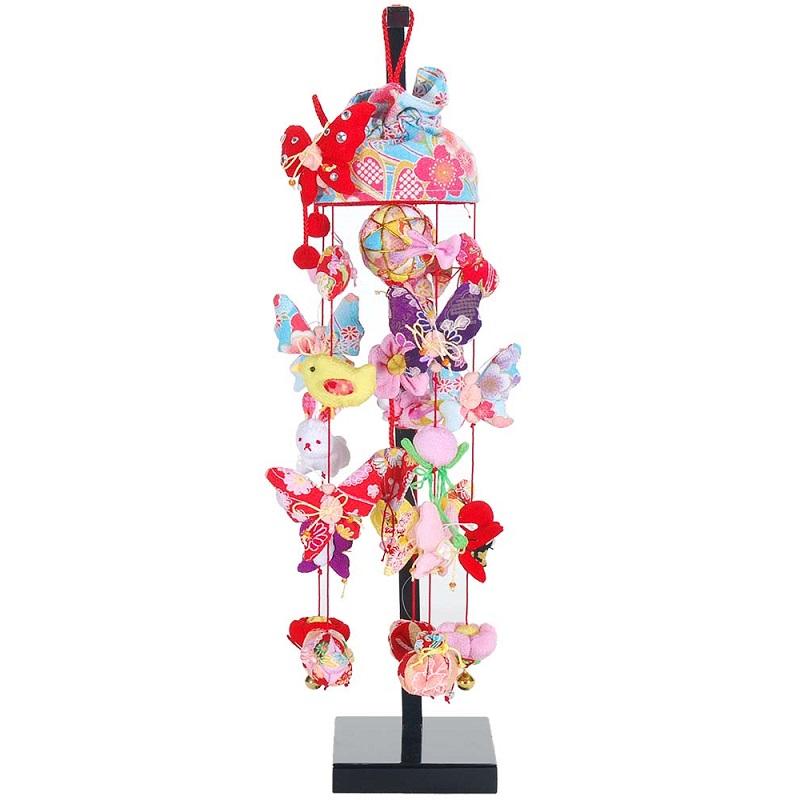 吊るし飾り【アゲハ蝶】飾り台セット [特小] スタンド付き【sb3-agh-ss】