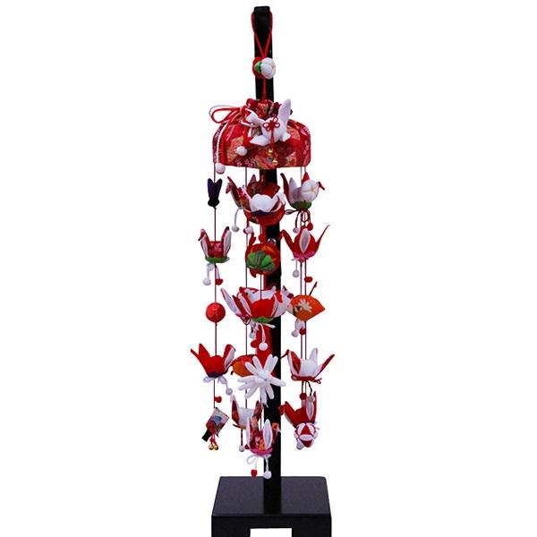 吊るし飾り【祝い鶴】飾り台セット [小] スタンド付き【sb3-iwit-s】