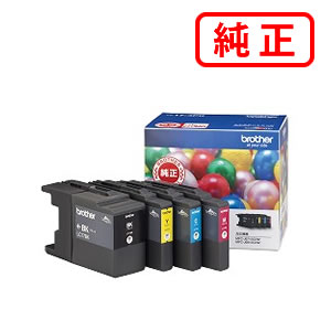 LC17-4PK (大容量) 4色セットBROTHER/ブラザー 純正インクカートリッジ