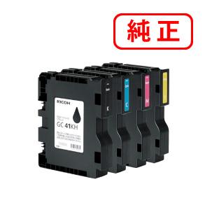 GC41H-4PK 4色セットRICOH/リコー 純正インク GXカートリッジ