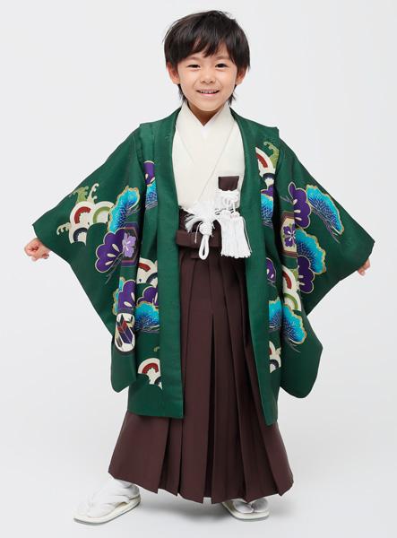 七五三 男児 男の子 羽織袴フルセット 5歳 5才 五歳 五才 着物 祝着 小町 (仕立て可95-125cm 草履サイズ変更可) 新品 (株)安田屋 l523920751