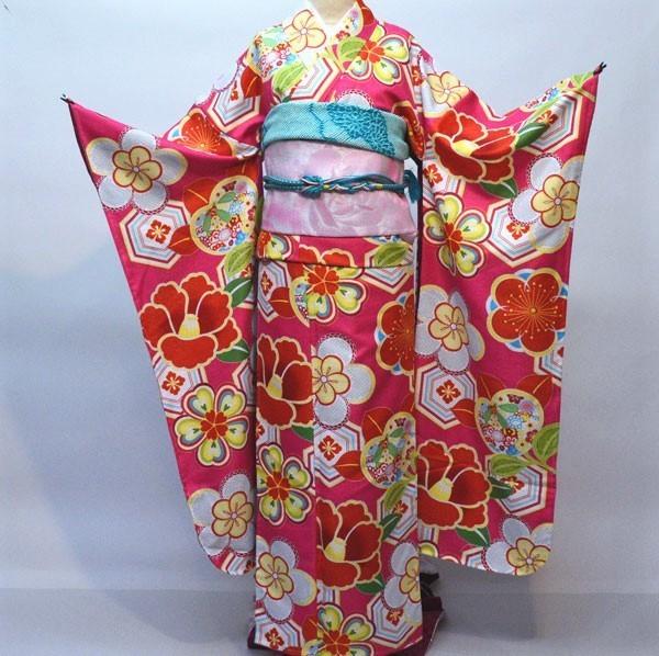振袖 着物単品 キスミス 合繊 仕立て上がり 成人式 結納 結婚式 新品(株)安田屋 v651325725