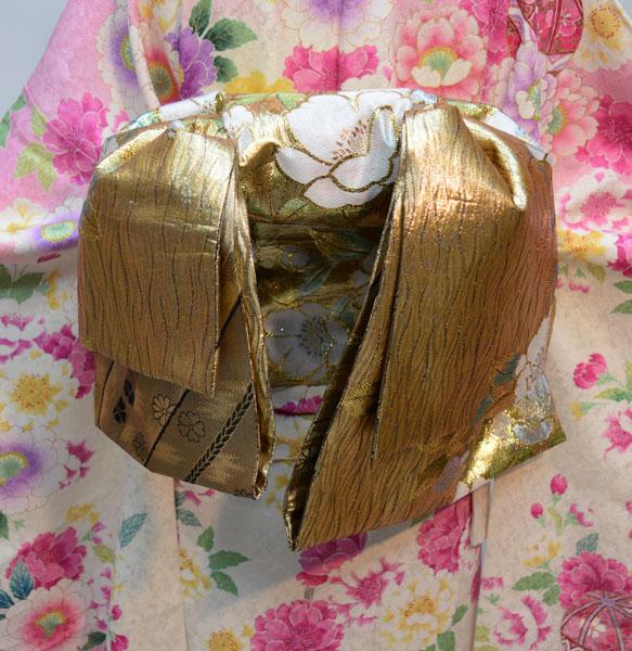 袋帯 正絹 西陣織 花文庫 作り帯 結び帯 着付け不要 新品(株)安田屋j502884368