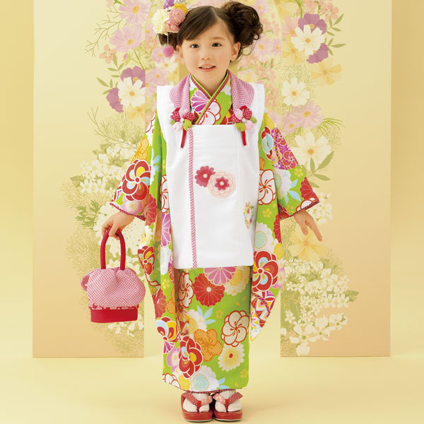七五三 3才 3歳 三才 三歳 女児 女の子 被布着物祝着フルセット 式部浪漫 2016年モデル 新品(株)安田屋f188830125