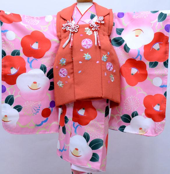 七五三 三歳 女児 被布着物フルセット 染め加工日本 新品(株)安田屋 v685915220
