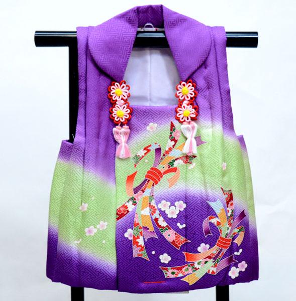 七五三 三歳 女児 正絹 被布コート 日本製 単品 新品(株)安田屋 d419659643