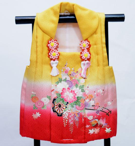 七五三 三歳 女児 正絹 被布コート 日本製 単品 新品(株)安田屋 t706825115