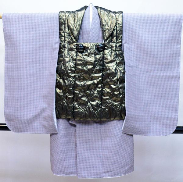 七五三 3歳 3才 三歳 三才 男の子 男児 被布 着物フルセット 生地は日本製 新品(株)安田屋 469017223