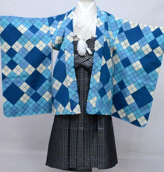 七五三 五歳 男児 羽織 袴フルセット 日本製 おりびと 新品 (株)安田屋 s710390275
