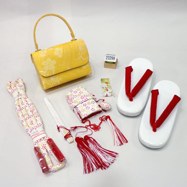 七五三 7才 7歳 七才 七歳 女児 女の子 箱せこセット 日本製 新品 (株)安田屋 x463767950