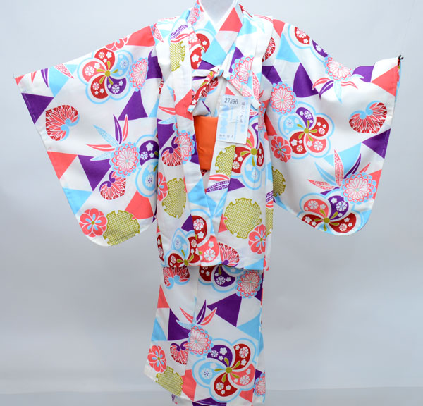 着物 5点セット 女児 女の子 7歳~8歳、七才~八才、七歳~八歳、7才~8才 対応身長115cm~125cm 祝着 はなごろも 新品(株)安田屋 n254194171