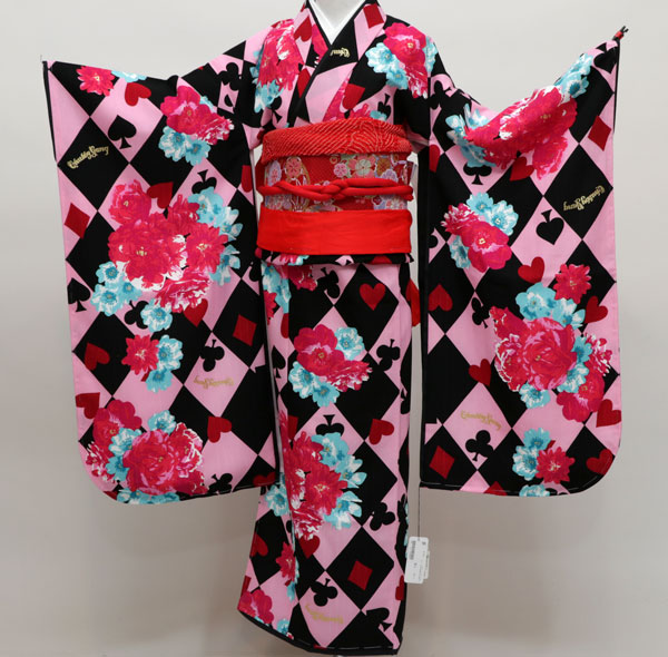七五三 7才 7歳 七才 七歳 女児 女の子 祝着 着物フルセット CHUBBYGANG 新品(株)安田屋 g216072662