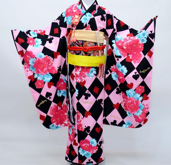 七五三 7才 7歳 七才 七歳 女児 女の子 祝着 着物フルセット CHUBBYGANG 新品(株)安田屋 s548859922