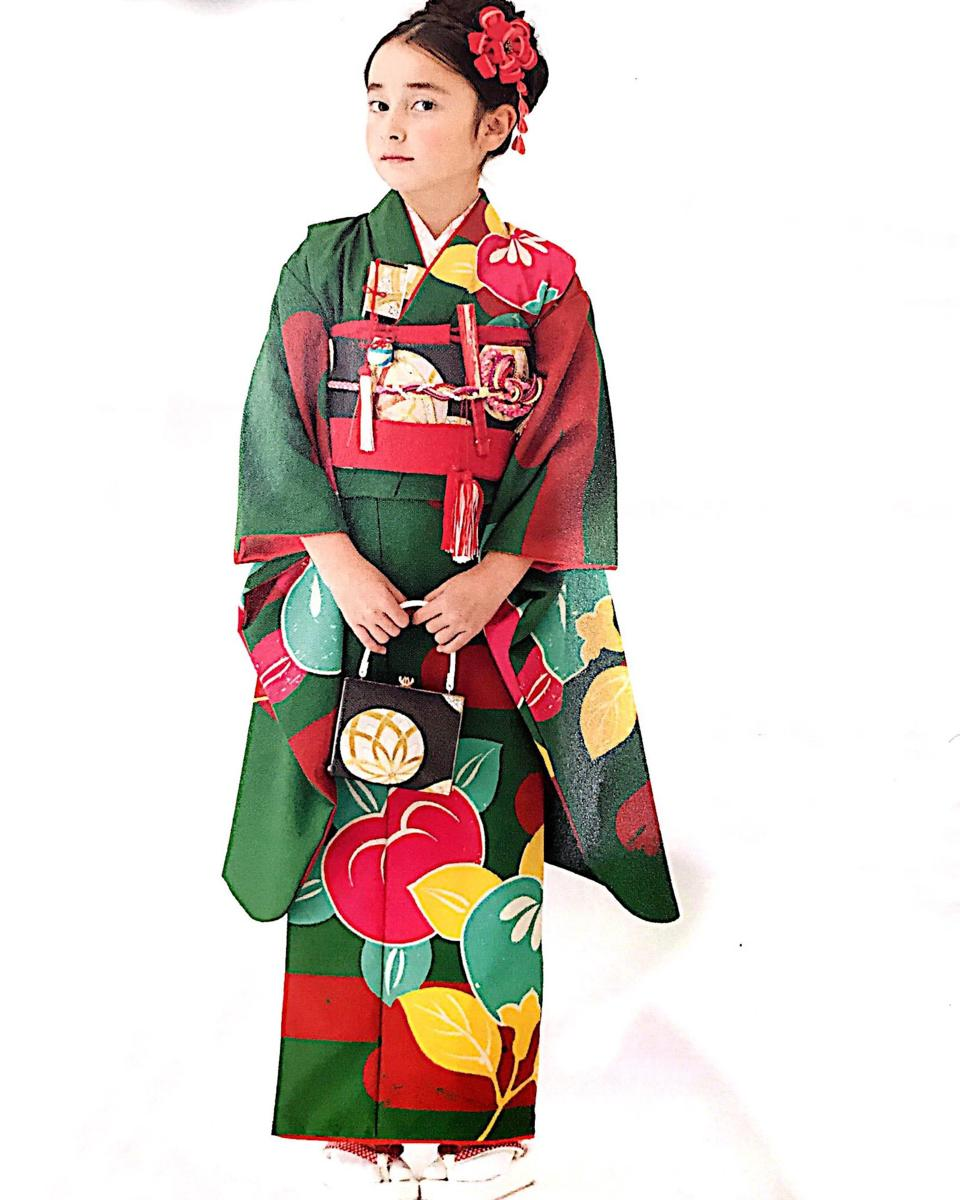七五三 7才 7歳 七才 七歳 女児 女の子 祝着 着物フルセット 式部浪漫 新品(株)安田屋 x574587702