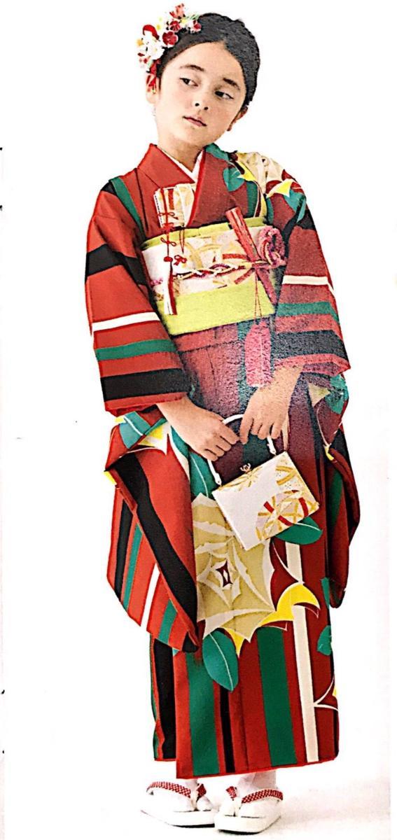 七五三 7才 7歳 七才 七歳 女児 女の子 祝着 着物フルセット 式部浪漫 新品(株)安田屋 x535997085