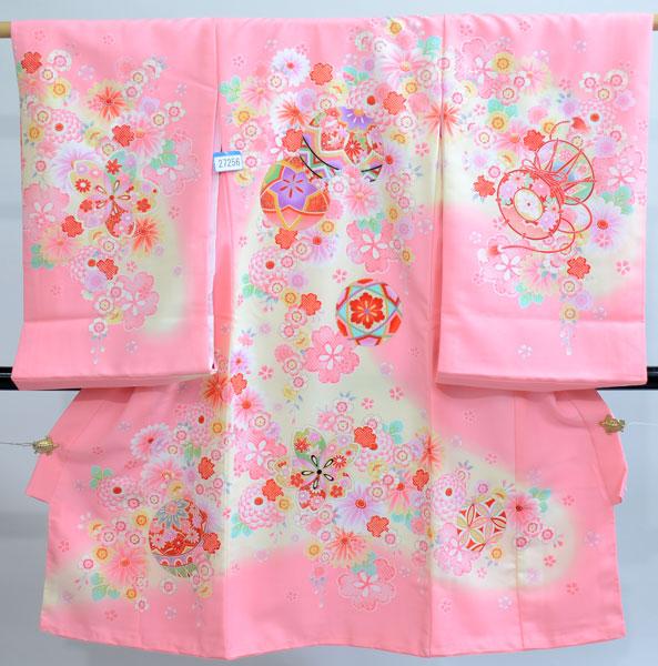 お宮参り産着 女児 のしめ 一つ身 祝着 着物生地は日本製 合繊 新品 (株)安田屋 n251944475