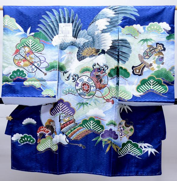 お宮参り産着 男児 男の子 のしめ 一つ身 祝着 合繊 新品 (株)安田屋 j491620949