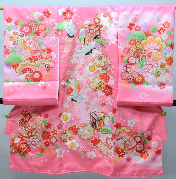お宮参り産着 女児 女の子 のしめ 一つ身 祝着 合繊 新品 (株)安田屋 s587263749