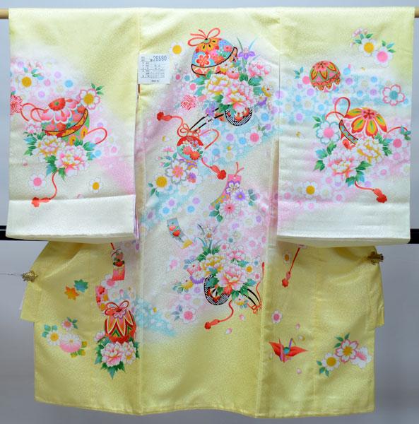 お宮参り産着 女児 女の子 のしめ 一つ身 祝着 合繊 新品 (株)安田屋 s587263717
