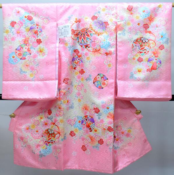 お宮参り産着 女児 女の子 のしめ 一つ身 祝着 合繊 新品 (株)安田屋 s587263721