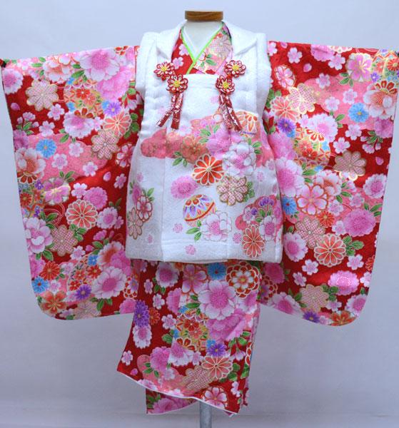 七五三 三歳 正絹 被布着物フルセット 新品 (株)安田屋 p742898819
