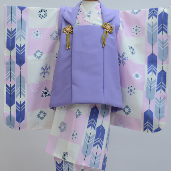 七五三 3歳 3才 三歳 三才 男の子 三歳 男児 被布着物フルセット 新品(株)安田屋x436039215